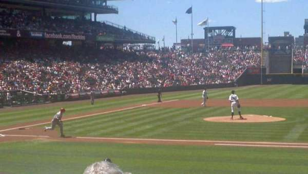 Coors Field, secção: 124, fila: 14