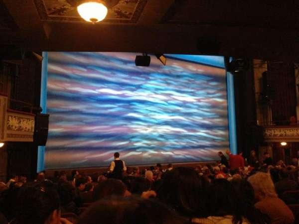 Broadhurst Theatre, secção: Orcho, fila: O, lugar: 13