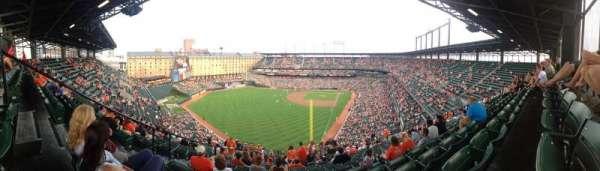 Oriole Park at Camden Yards, secção: 378, fila: 24, lugar: 19