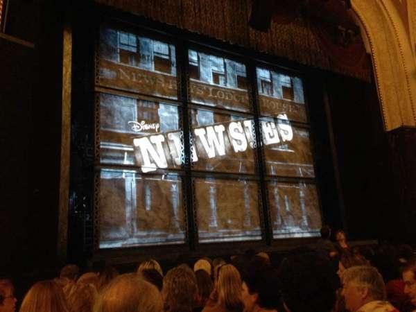 Proctor's Theatre, secção: Orchestra CL, fila: JJ, lugar: 15