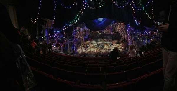 Neil Simon Theatre, secção: FMEZZ, fila: J, lugar: 107
