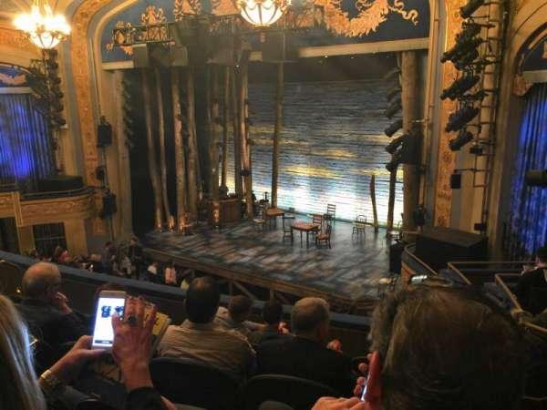 Gerald Schoenfeld Theatre, secção: Mezzanine R, fila: F, lugar: 22