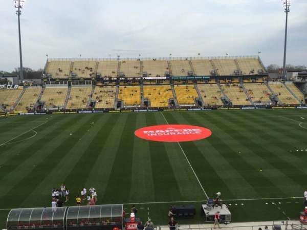 Mapfre Stadium, secção: 226, fila: 1, lugar: 8