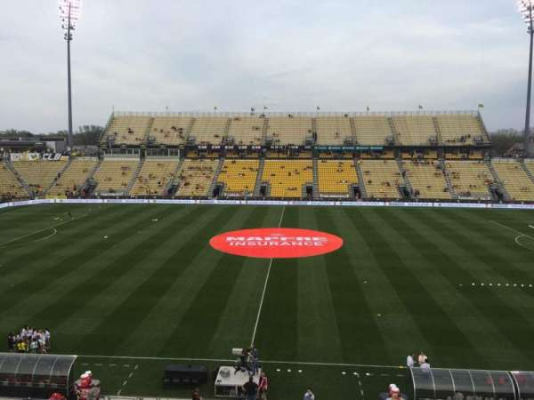 Mapfre Stadium, secção: 225, fila: 1, lugar: 19