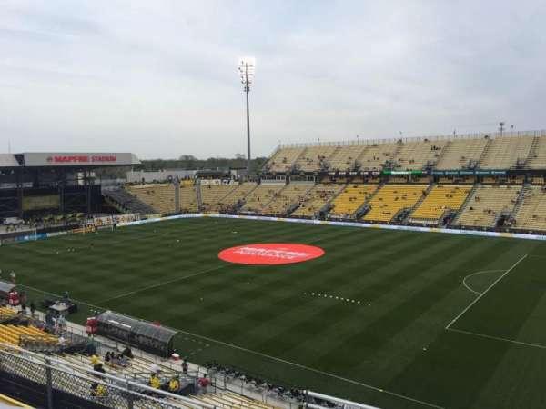 Mapfre Stadium, secção: 222, fila: 1, lugar: 20