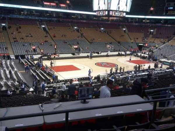 Scotiabank Arena, secção: 121, fila: 26, lugar: 7