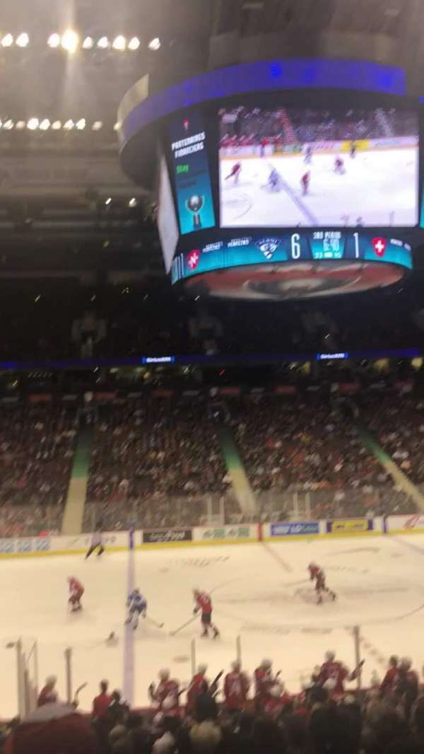 Rogers Arena, secção: 118, fila: 20, lugar: 5