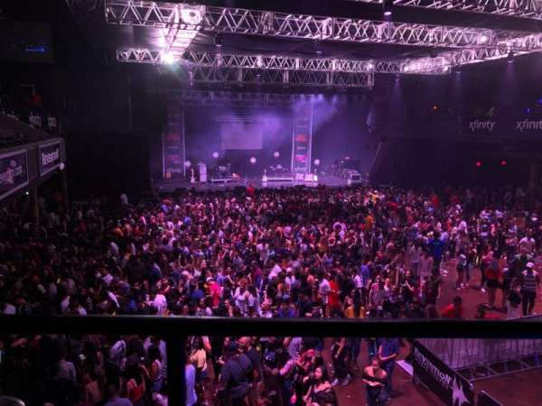 Revention Music Center, secção: 206, fila: A, lugar: 2