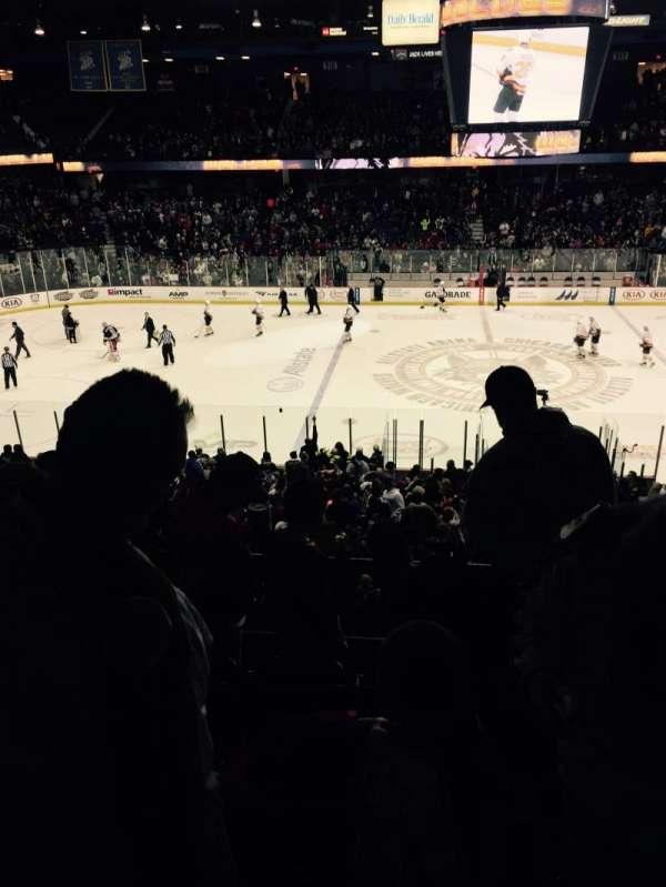 Allstate Arena, secção: 203, fila: E, lugar: 6