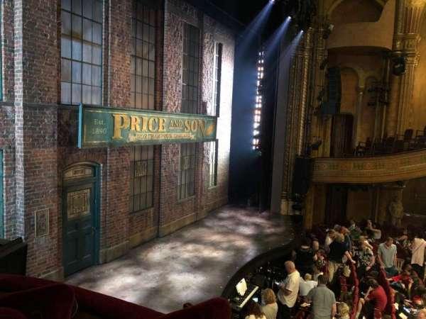 Al Hirschfeld Theatre, secção: LEFT BOX, fila: C, lugar: 10