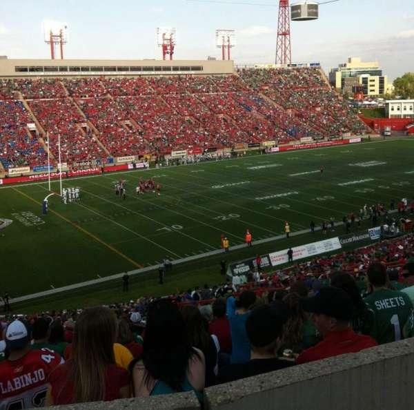 McMahon Stadium, secção: J, fila: 53, lugar: 20