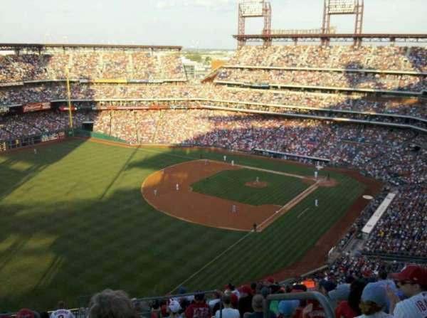 Citizens Bank Park, secção: 434, fila: 12, lugar: 1