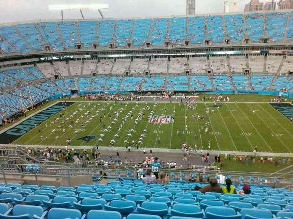 Bank of America Stadium, secção: 541, fila: 21, lugar: 14