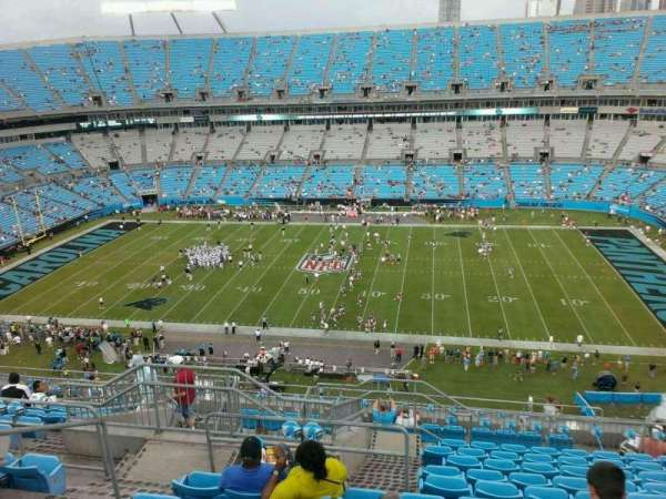 Bank of America Stadium, secção: 541, fila: 15, lugar: 20