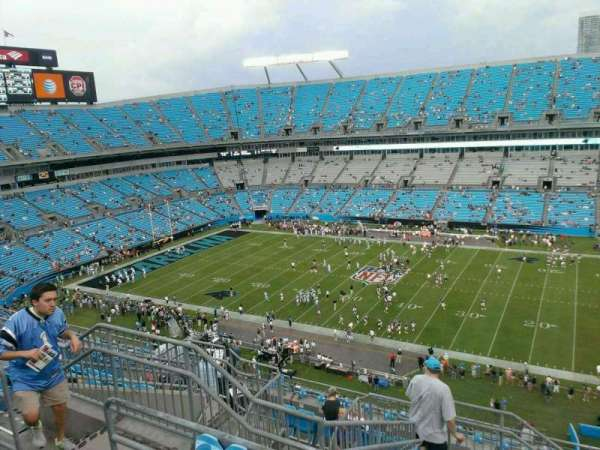 Bank of America Stadium, secção: 540, fila: 14, lugar: 18