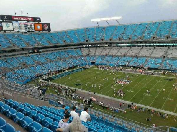 Bank of America Stadium, secção: 539, fila: 14, lugar: 3