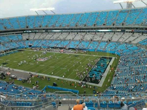Bank of America Stadium, secção: 537, fila: 8, lugar: 13
