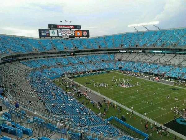Bank of America Stadium, secção: 533, fila: 6, lugar: 11
