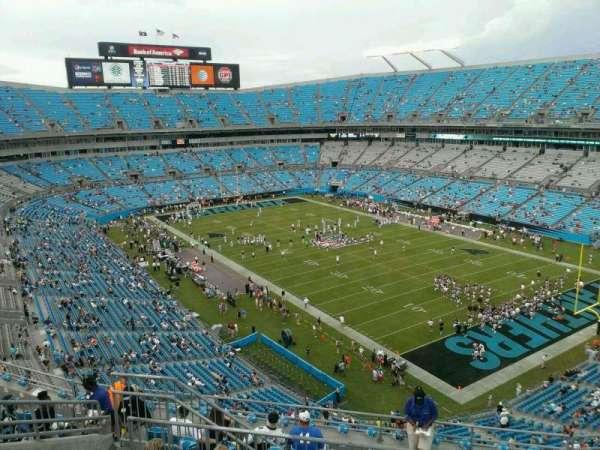 Bank of America Stadium, secção: 535, fila: 6, lugar: 11