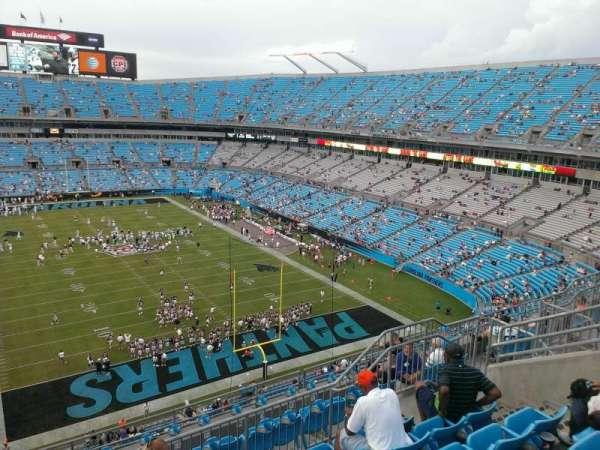 Bank of America Stadium, secção: 530, fila: 5, lugar: 13