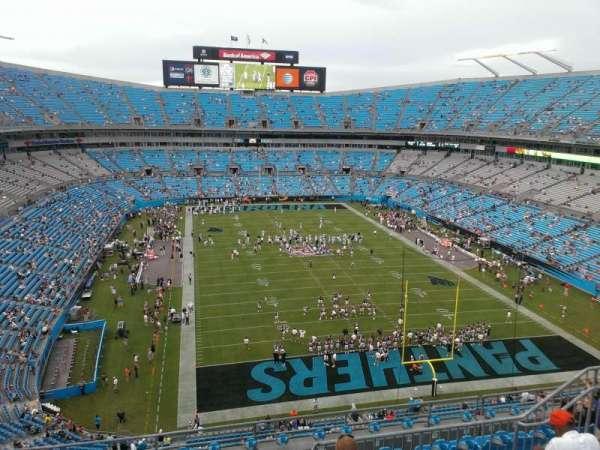 Bank of America Stadium, secção: 530, fila: 5, lugar: 14