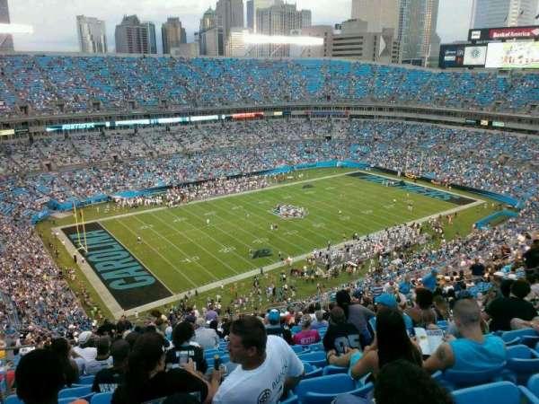 Bank of America Stadium, secção: 547, fila: 26, lugar: 24