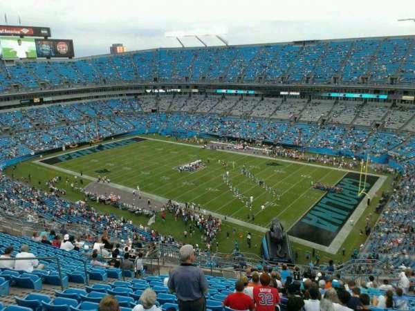 Bank of America Stadium, secção: 509, fila: 13, lugar: 15