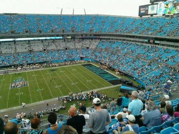 Bank of America Stadium, secção: 514, fila: 10, lugar: 17