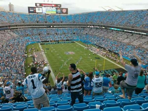 Bank of America Stadium, secção: 504, fila: 19, lugar: 15