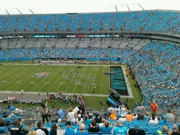 Bank of America Stadium, secção: 511, fila: 14, lugar: 17
