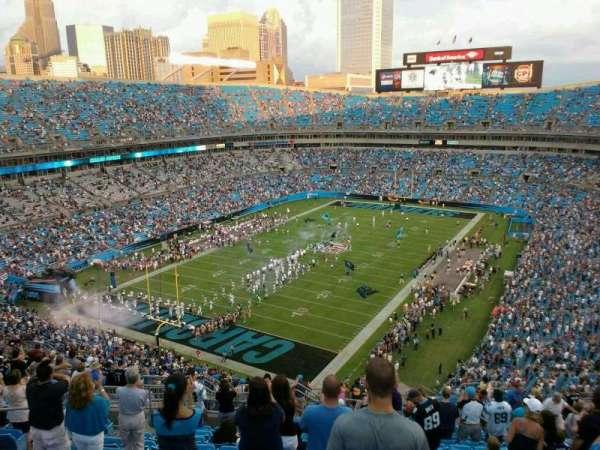 Bank of America Stadium, secção: 552, fila: 16, lugar: 14