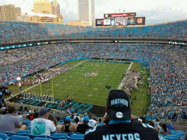Bank of America Stadium, secção: 553, fila: 13, lugar: 16