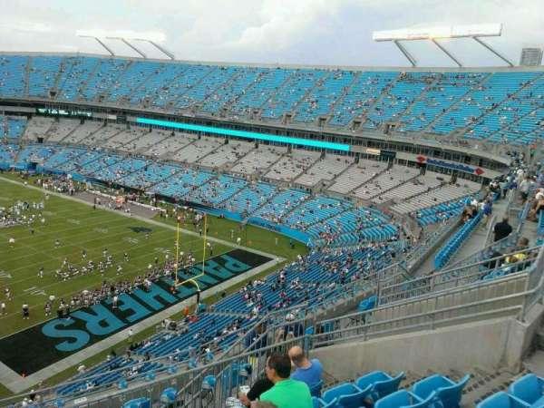 Bank of America Stadium, secção: 532, fila: 8, lugar: 14