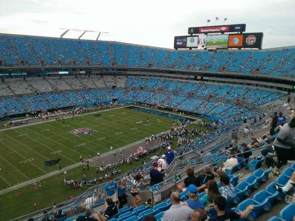 Bank of America Stadium, secção: 519, fila: 11, lugar: 15