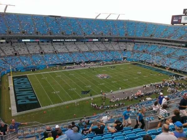 Bank of America Stadium, secção: 519, fila: 11, lugar: 14