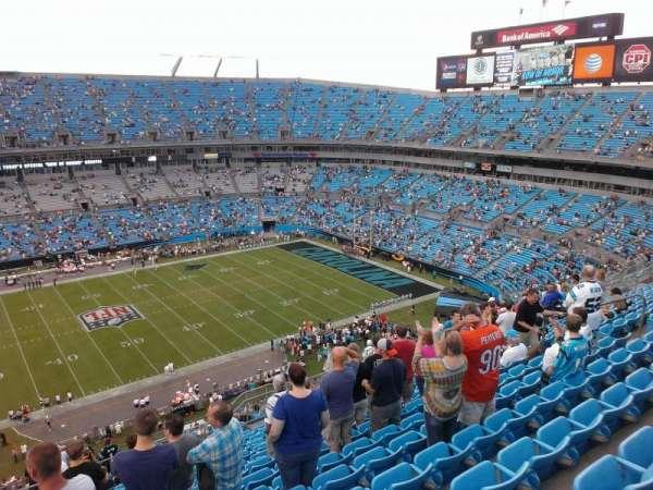 Bank of America Stadium, secção: 516, fila: 15, lugar: 18
