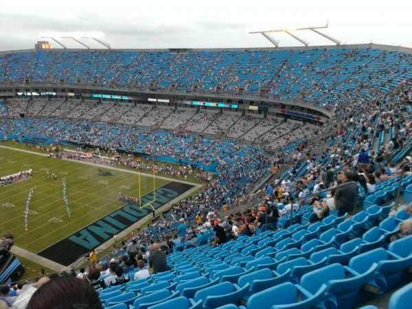 Bank of America Stadium, secção: 506, fila: 22, lugar: 15