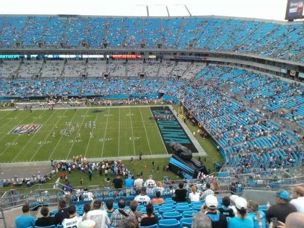 Bank of America Stadium, secção: 512, fila: 11, lugar: 14