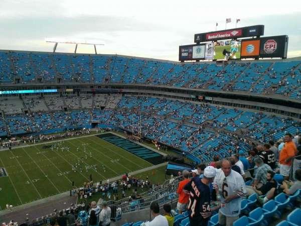 Bank of America Stadium, secção: 515, fila: 13, lugar: 15