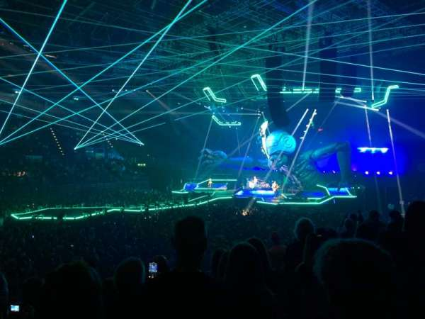 Arena Birmingham, secção: 2 Lower, fila: R, lugar: 75