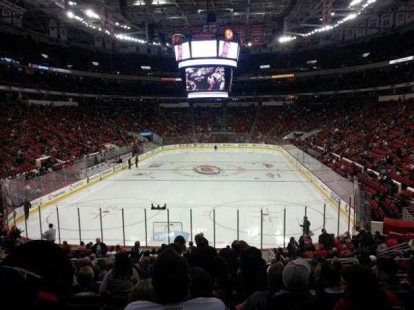 PNC Arena, secção: 126, fila: S