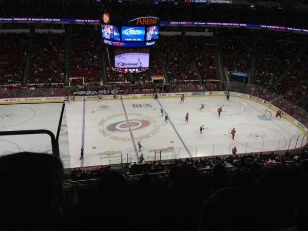 PNC Arena, secção: 324, fila: E, lugar: 24