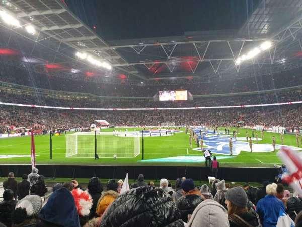 Wembley Stadium, secção: 133, fila: 12, lugar: 300