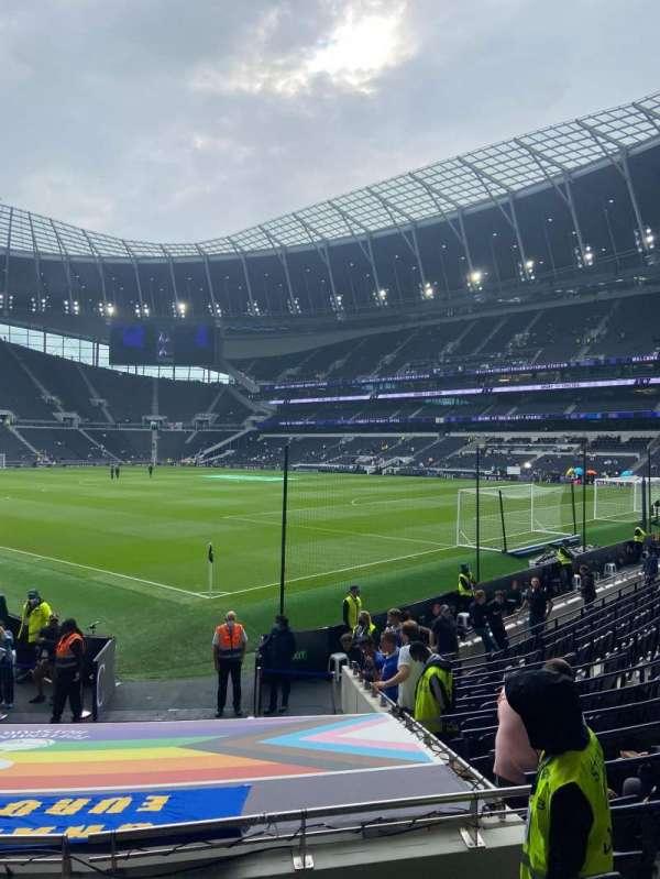 Tottenham Hotspur Stadium, secção: 116, fila: 16, lugar: 183