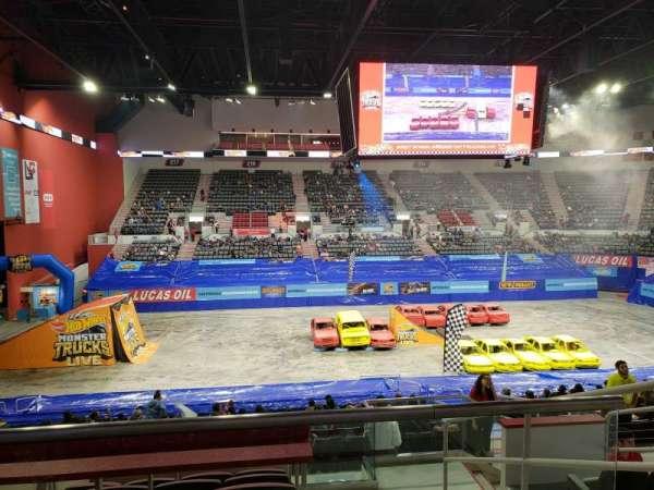 Bert Ogden Arena, secção: 201, fila: F, lugar: 6