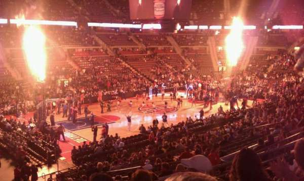 The Palace of Auburn Hills, secção: 103, fila: n, lugar: 13