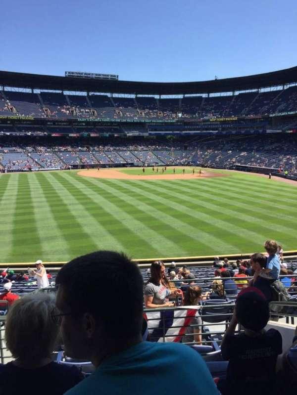 Turner Field, secção: 244, fila: 5, lugar: 4