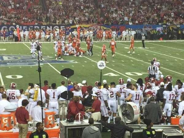 Georgia Dome, secção: 116, fila: 15, lugar: 14