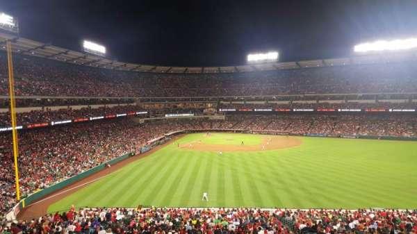 Angel Stadium, secção: P245, fila: SA, lugar: 11