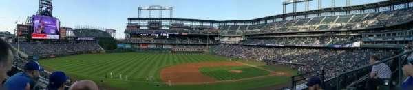 Coors Field, secção: 241, fila: 3, lugar: 5